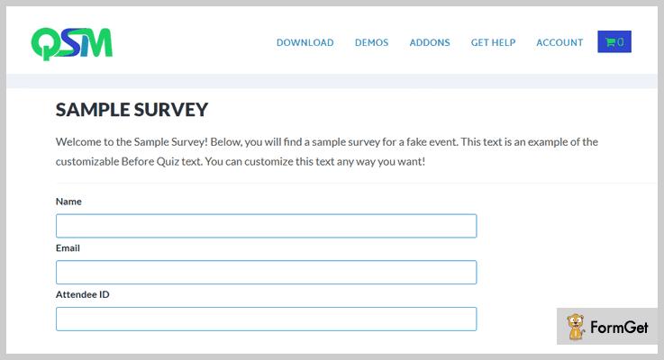Quiz And Survey Master WordPress Quiz Plugin
