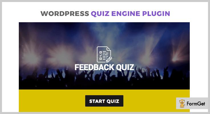 Quiz Engine WordPress Quiz Plugin