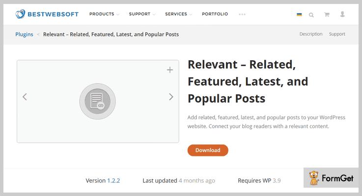 Relevant Popular Post WordPress Plugins