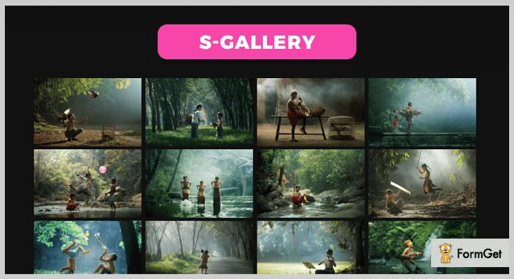 S Gallery jQuery Gallery Plugin