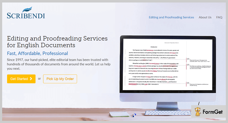 Scribendi WordPress Proofreading Plugin