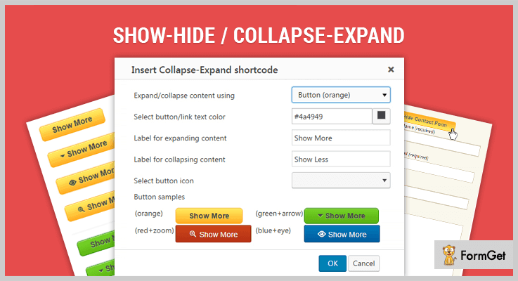Show-Hide/Collapse Expand WordPress Plugin