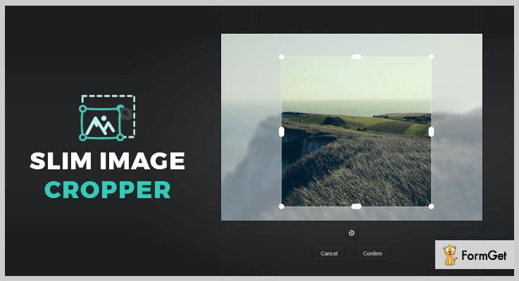 Slim Image Cropper jQuery Image Upload Plugin