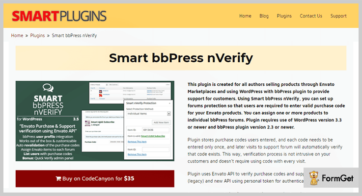 Smart bbPress nVerify WordPress bbPress Plugin