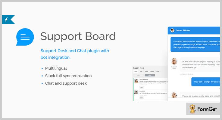 Support Board WordPress Help Desk Plugins