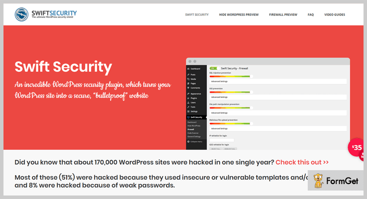 Swift Security Bundle WordPress Firewall Plugin