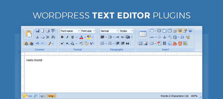 WordPress Text Editor Plugins