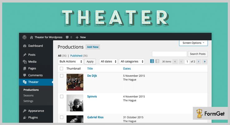 Theater for WordPress WordPress Cinema Plugins