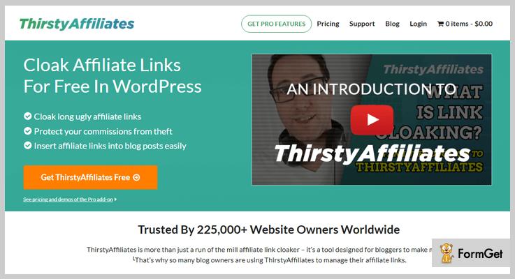 ThirstyAffiliates Marketing WordPress Plugin