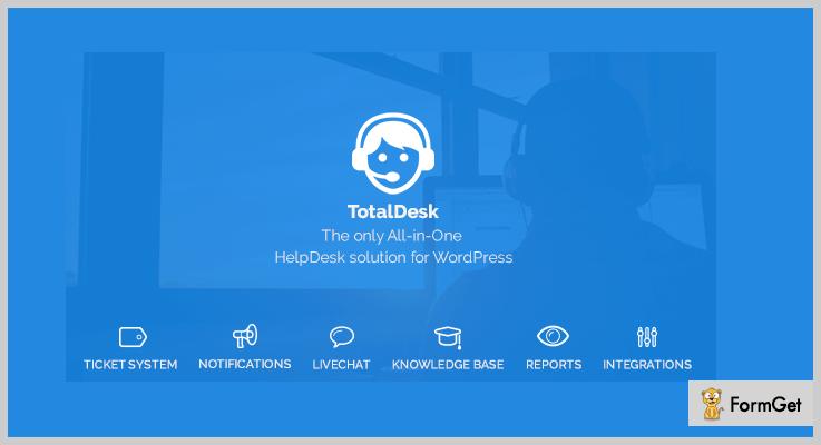 TotalDesk WordPress Help Desk Plugins