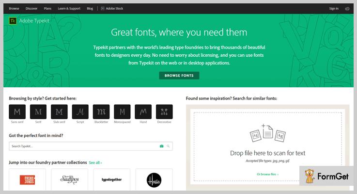 Typekit WordPress Font Plugin