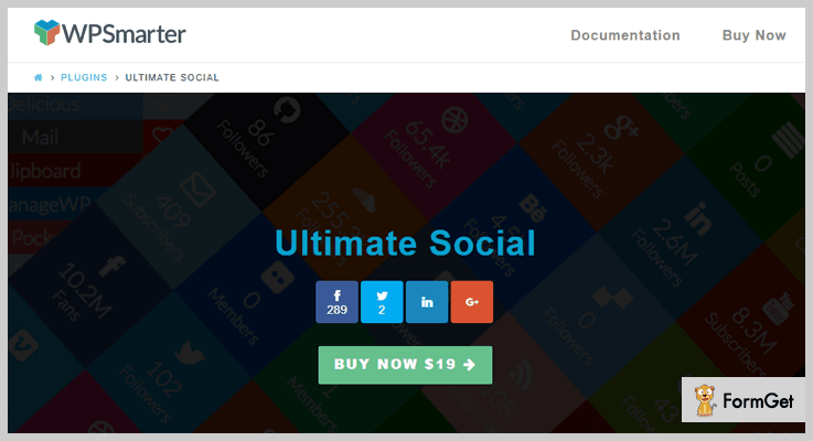 Ultimate Social LinkedIn WordPress Plugin