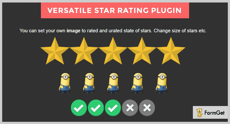 Versatile Star jQuery Rating Plugin