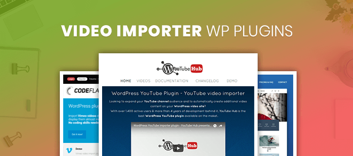 Video Importer WordPress Plugins