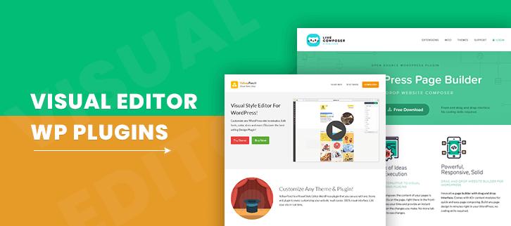 Visual Editor WordPress Plugins