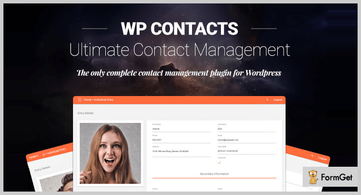 WP Contacts Database WordPress Plugin