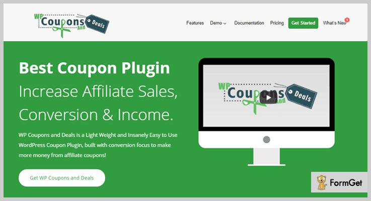 WP Coupons and Deals WordPress Coupon Plugin
