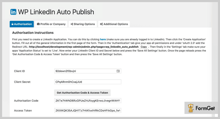 Auto Publish LinkedIn WordPress Plugin