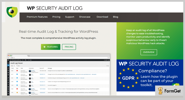 WP Security Audit Log WordPress Audit Plugins