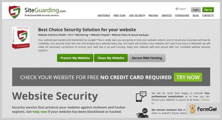 WP Site Protection WordPress Antivirus Plugin