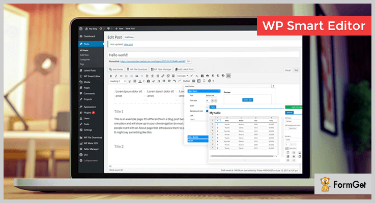 WP Smart Editor WordPress Text Editor Plugins