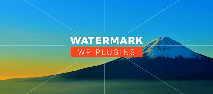 Watermark WordPress Plugins