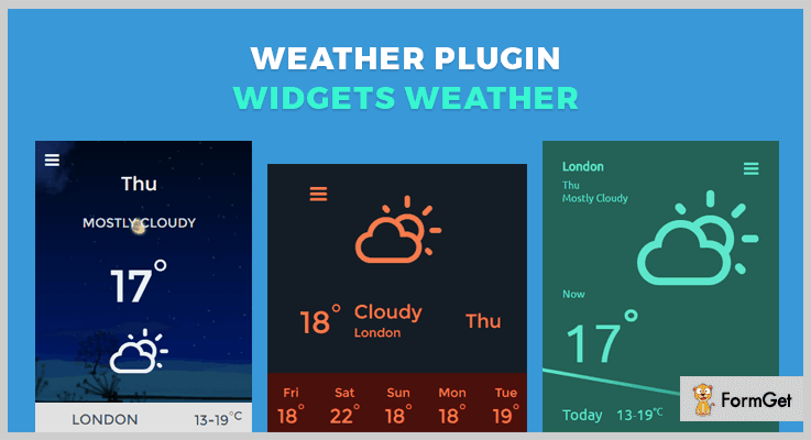 Weather Plugin-Widgets Weather jQuery Weather Plugins