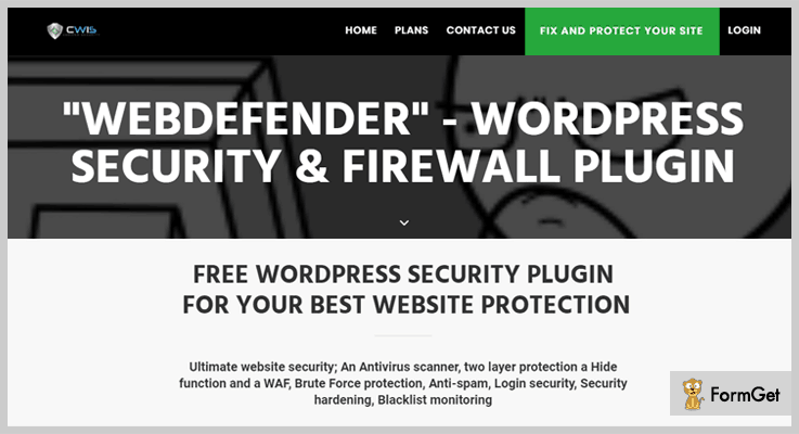 WebDefender WordPress Firewall Plugin