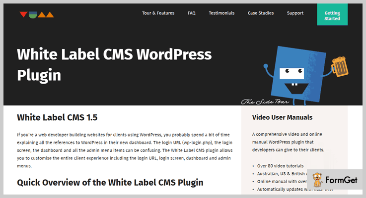 White Label CMS White Label WordPress Plugin