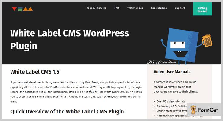 White Label CMS White Label WordPress Plugin