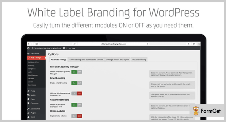 White Label Branding White Label WordPress Plugin
