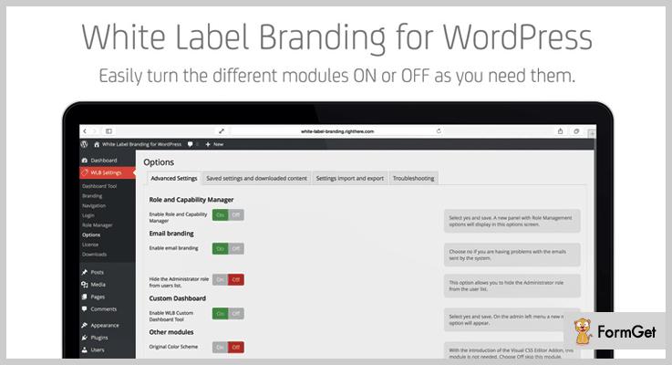 White Label Branding White Label WordPress Plugin