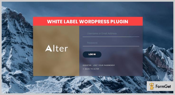 White Label WordPress Plugin