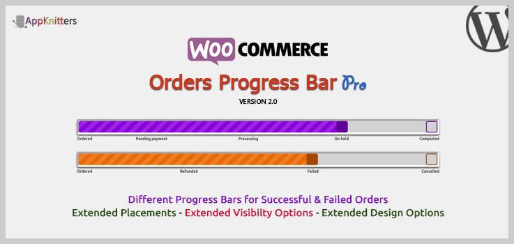 WooCommerce Orders Progress Bar - Pro - WordPress Progress Bar Plugins