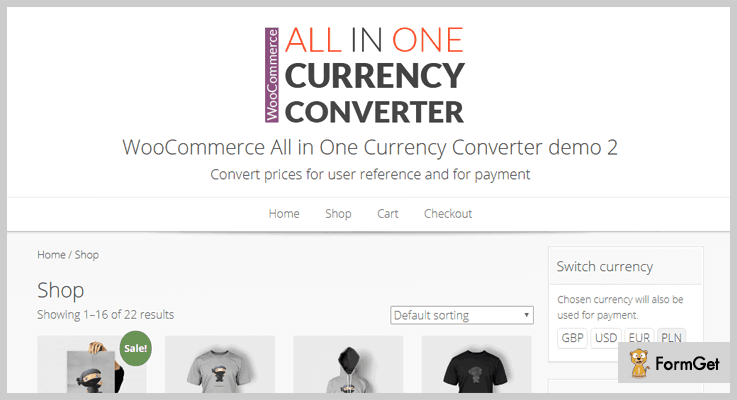 WooCommerce All in One WordPress Currency Converter