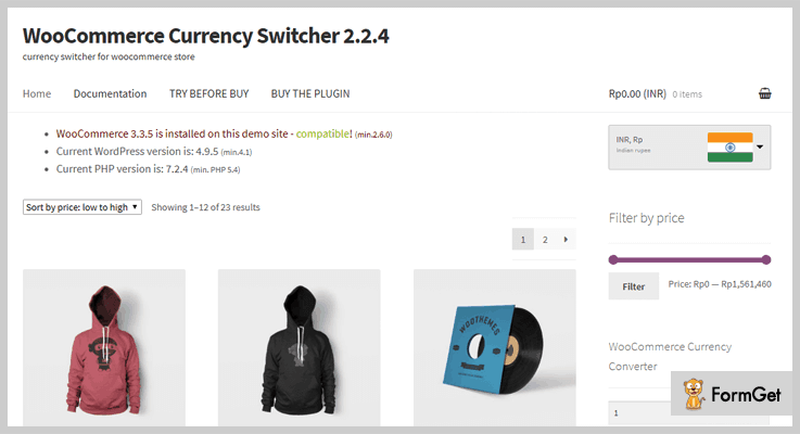 WooCommerce Currency Switcher WordPress Curency Converter Plugin