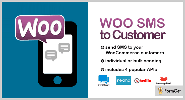 WooCommerce SMS Customer Notifications WordPress SMS Marketing Plugin