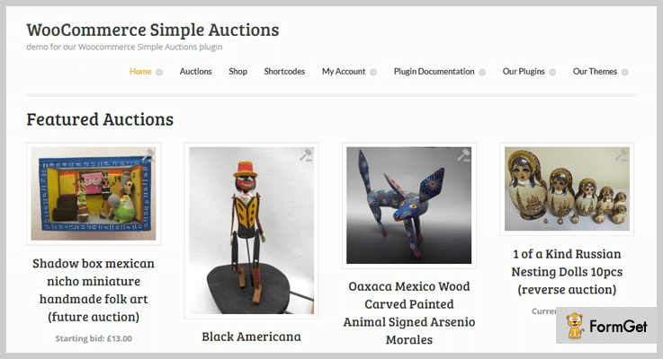 WooCommerce Simple Auctions - WordPress eBay Plugins