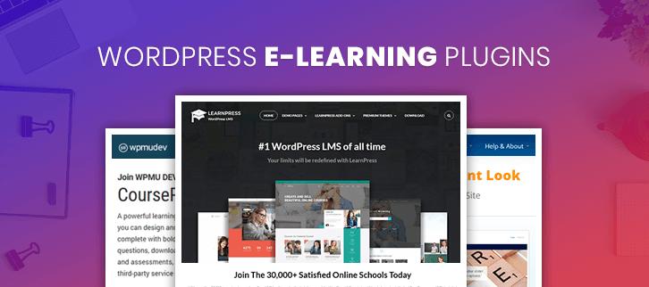 WordPress E-learning Plugins