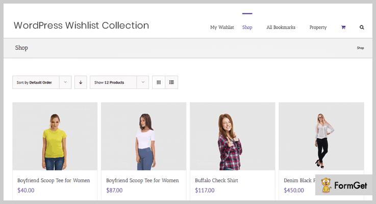 Wishlist Collection And Bookmark WishlistWordPress Plugin