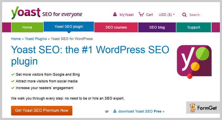 Yoast SEO Marketing WordPress Plugin