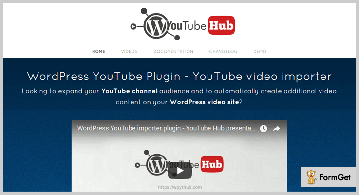 YouTube Video Importer WordPress Plugin
