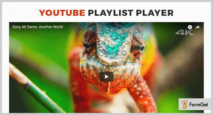 YouTube Playlist Player WordPress Playlist Plugins