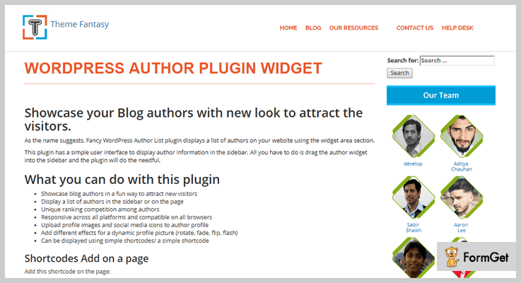 A Fancy WordPress Author List Author Profile WordPress Plugin