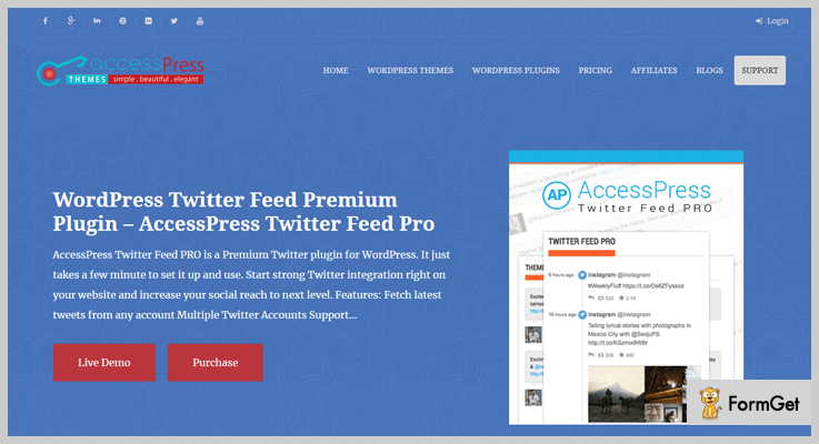 Twitter Feed Pro Twitter WordPress Plugins