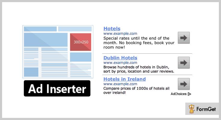Ad Inserter WordPress Banner Plugin