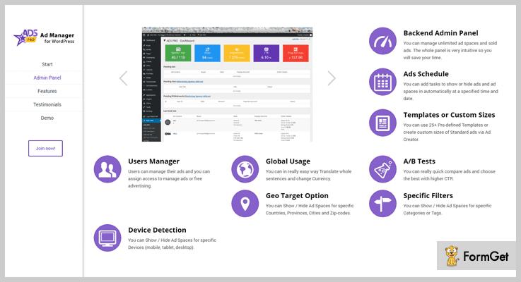 Ads Pro Plugin AdSense WordPress Plugin