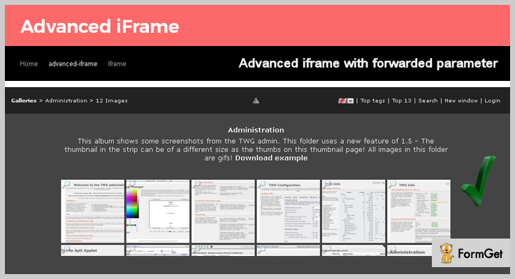 Advanced iframe WordPress iframe Plugin