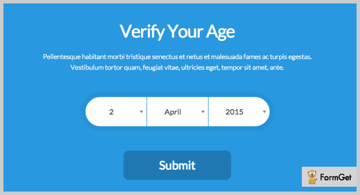 Age Verifier Age Verification WordPress Plugin