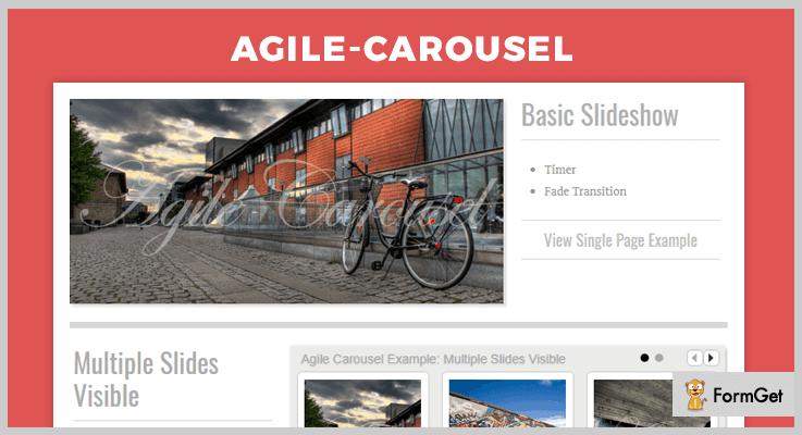 Agile Carousel jQuery Carousel Plugin